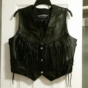 UNIK Leather Apparel Vest